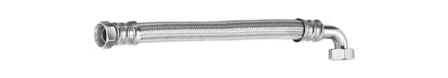 Шланг водяной угловой TUCAI TAQ CODO HG-1212-500 1/2*1/2 ВВ 0,5 м нержавейка