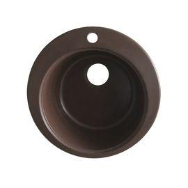 Мойка керамогранит GRAND круглая 45/300 коричневый КАМЕНЬ