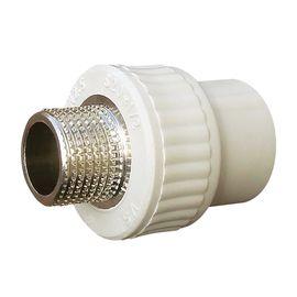 """1005 Муфта 32 мм на 1"""" НР «VS Plast» полипропиленовая с наружной резьбой"""