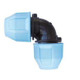 Колено VS Plast 4001 25x25 мм зажимное