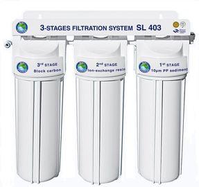 Система 3-х ступенчатой очистки Bio+ systems SL403-NEW (очистка + умягчение)