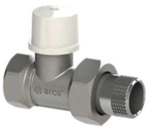 """Кран для радиатора Arco 507065 1/2"""" прямой под ключ"""