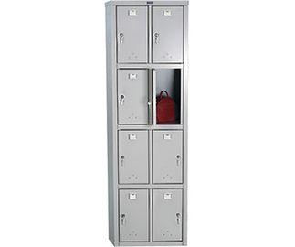 Шкаф для раздевалок ПРАКТИК LS-24-50