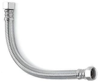 Шланг водяной УСИЛЕННЫЙ TUCAI TAQ SUPER HG-1212-300 1/2*1/2 ВВ 0,3 м нержавейка