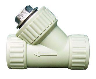 2027 Фильтр грубой очистки 40 мм VS Plast полипропиленовый