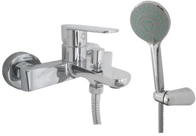 Смеситель для ванны TOPAZ BARTS-TB 07101-H36, душевой комплект