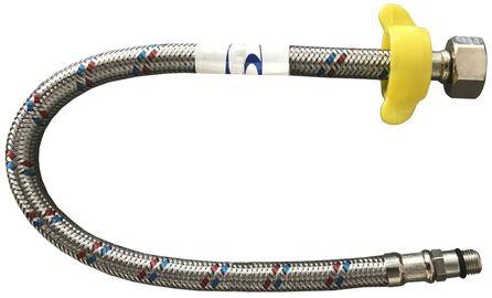 """Шланг для смесителей Solomon HY6201 В М10х1/2"""" 0,5 м короткий штуцер"""