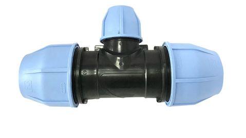 Тройник VS Plast 3004 32x25x32 мм редукционный