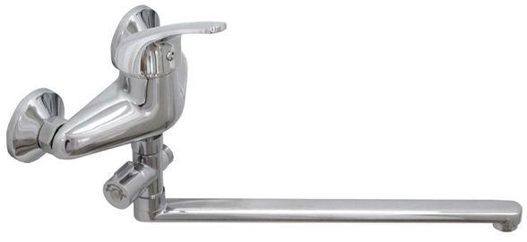 Змішувач для ванни Globus Lux SOLLY GLSO-0108, L-350, душовий комплект